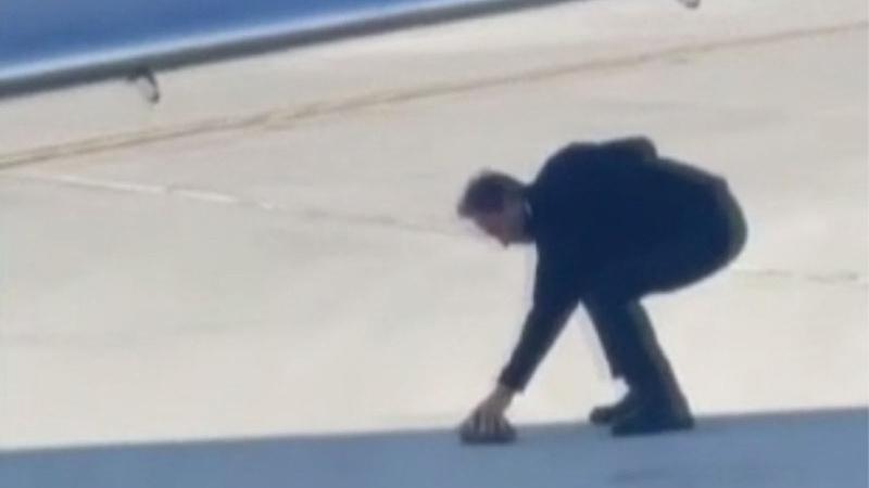 Duyarlı pilot, pistte gördüğü kaplumbağanın hayatını kurtardı