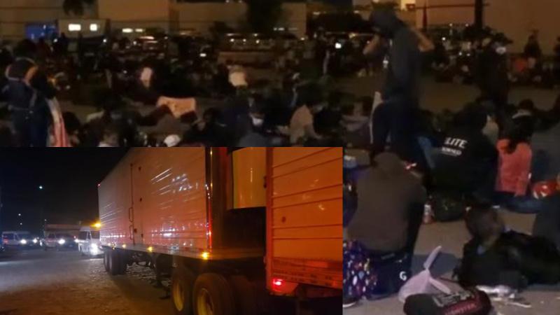 Konteyner içinde yakalanan 600 göçmen gözaltına alındı