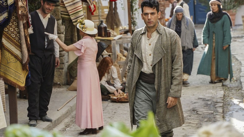 Murat Yıldırım'lı Aziz dizisinden ilk görüntüler geldi