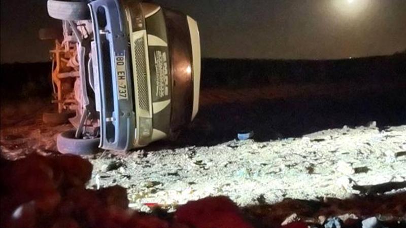 Şanlıurfa'da öğrenci servisi devrildi: 1 ölü, 5 yaralı