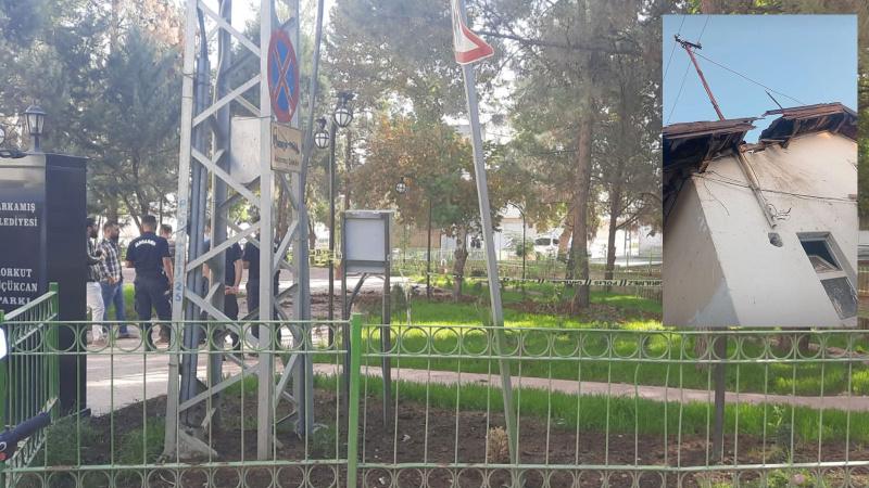 Karkamış'a Suriye tarafından 3 havan topu atıldı