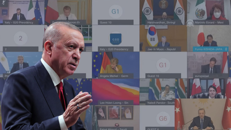 Erdoğan'dan liderlere 'Afgan Göçü' mesajı