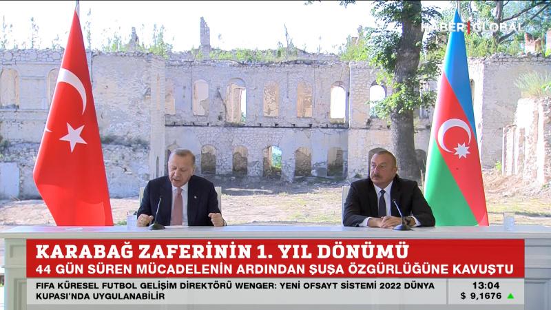Erdoğan 8 Kasım'da Azerbaycan'da
