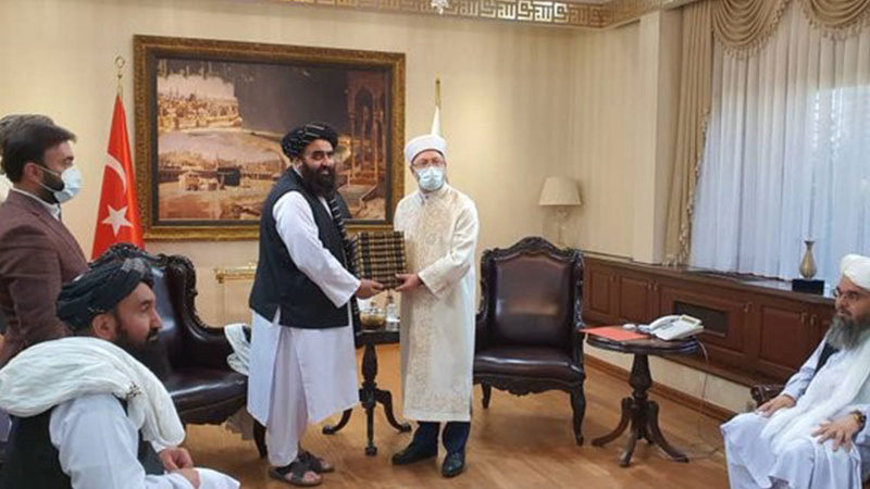 Erbaş, Taliban heyetini ağırladı