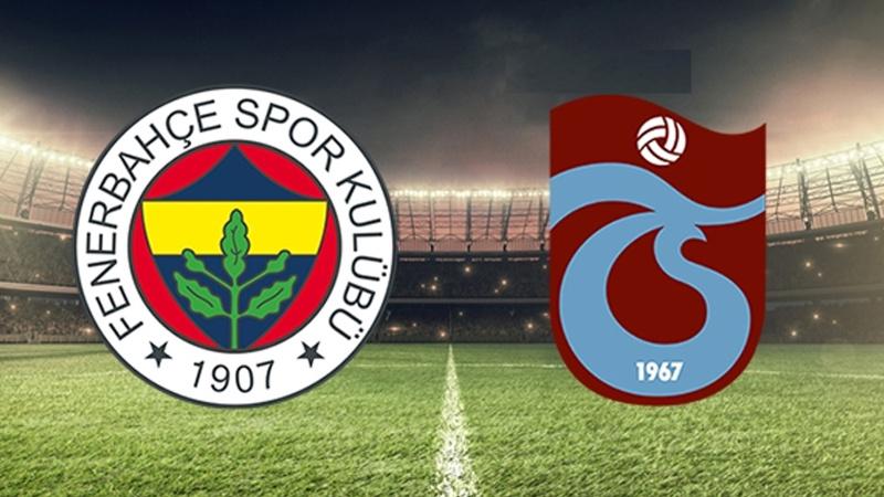 Trabzonspor-Fenerbahçe maçıyla ilgili flaş gelişme