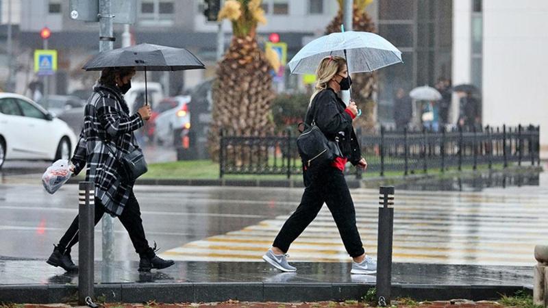 Meteoroloji saat verdi! Kuvvetli yağışa dikkat