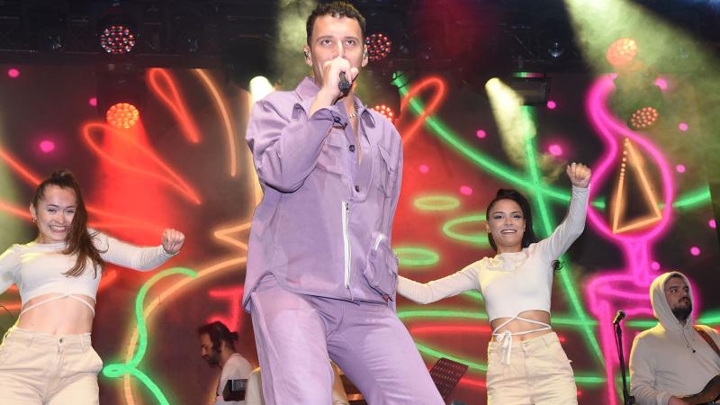 Lezzet festivalinde ünlüler geçidi yaşandı
