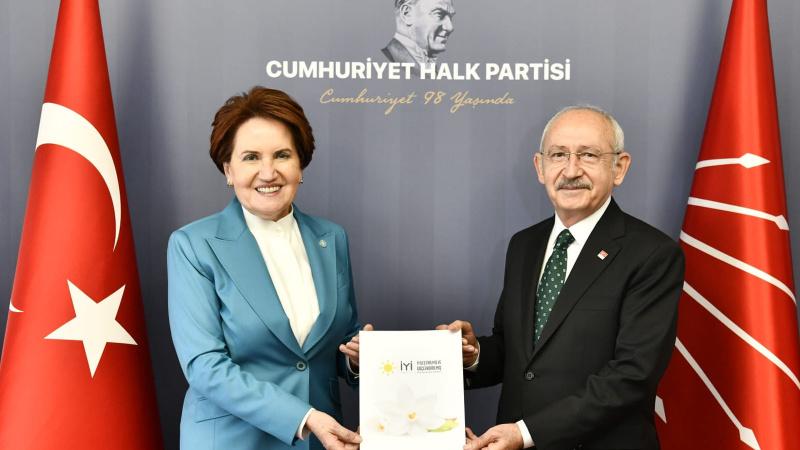 Akşener ve Kılıçdaroğlu'ndan görüşme sonrası açıklama