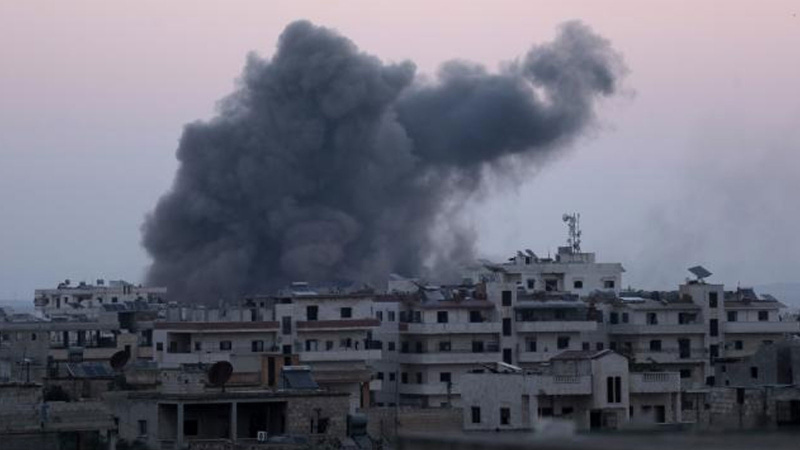İdlib'de saldırı: 10 ölü, 35 yaralı