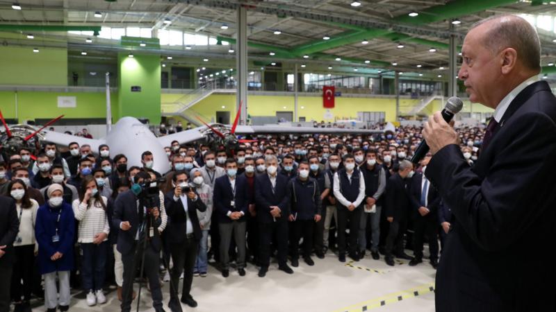 Erdoğan'dan BAYKAR'a taziye ziyareti