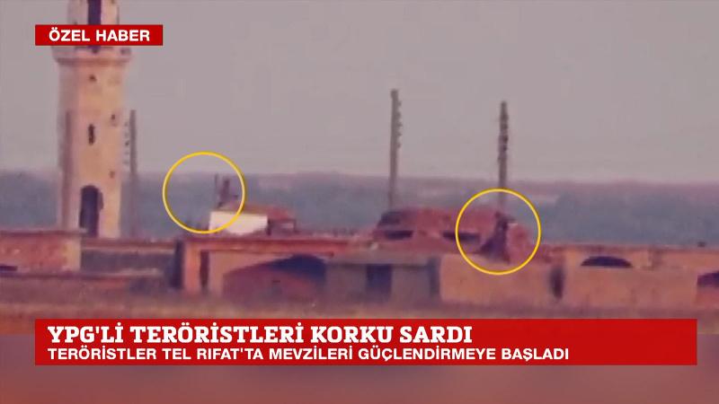 YPG'li teröristleri Türkiye korkusu sardı