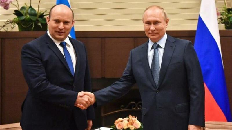 Putin, ilk kez İsrail Başbakanı Naftali Bennet'i kabul etti