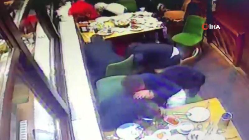 Restoranın kurşunlanması kamerada: 1 ölü, 5 yaralı