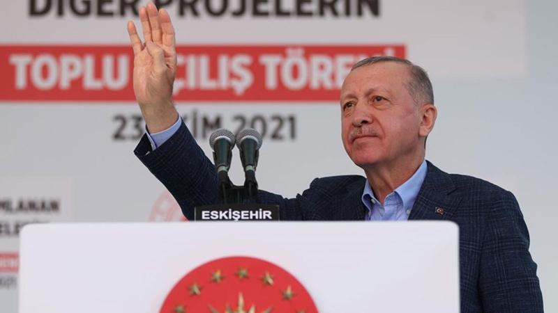 Erdoğan'dan Kavala tepkisi: 10 büyükelçi için talimat verdim