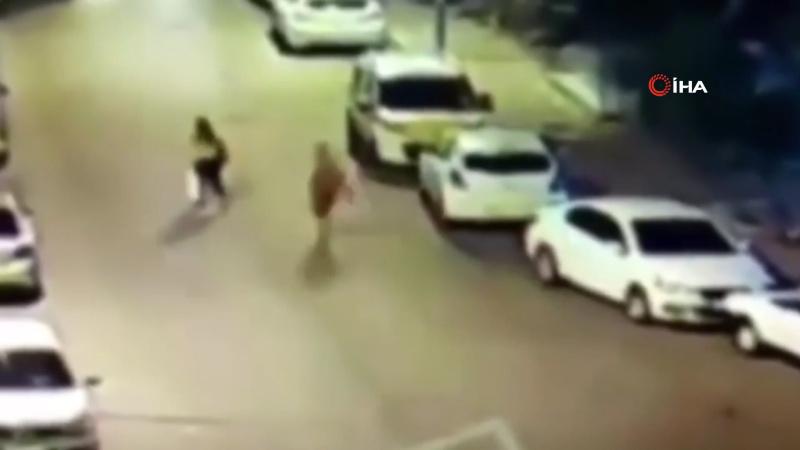 Yalnız yürüyen kadını sokakta böyle takip etti
