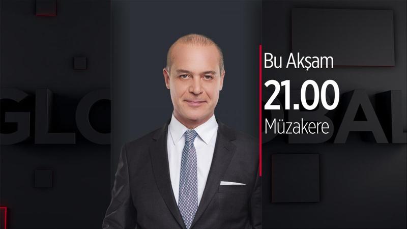"""Erhan Ertürk ile """"Müzakere"""" Haber Global'de"""