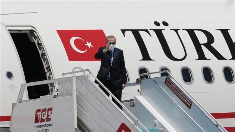 Cumhurbaşkanı Erdoğan'dan Kuveyt ve Katar'a ziyaret