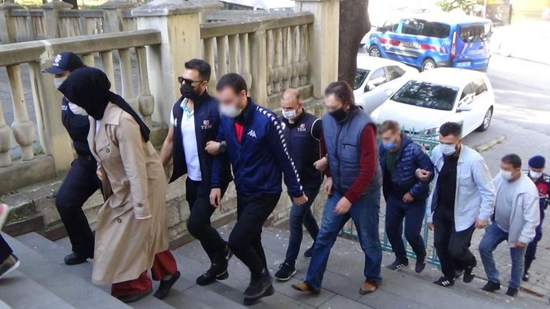 FETÖ operasyonunda 11 şüpheli tutuklandı
