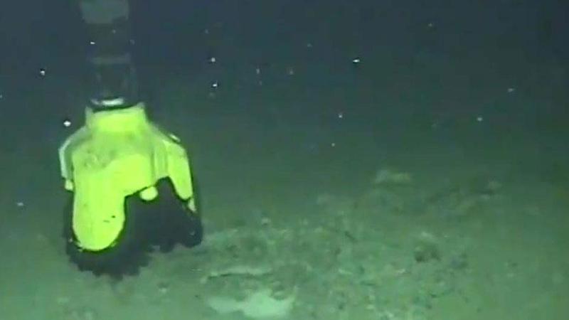 Karadeniz'deki sondaj çalışmalarının görüntüleri paylaşıldı