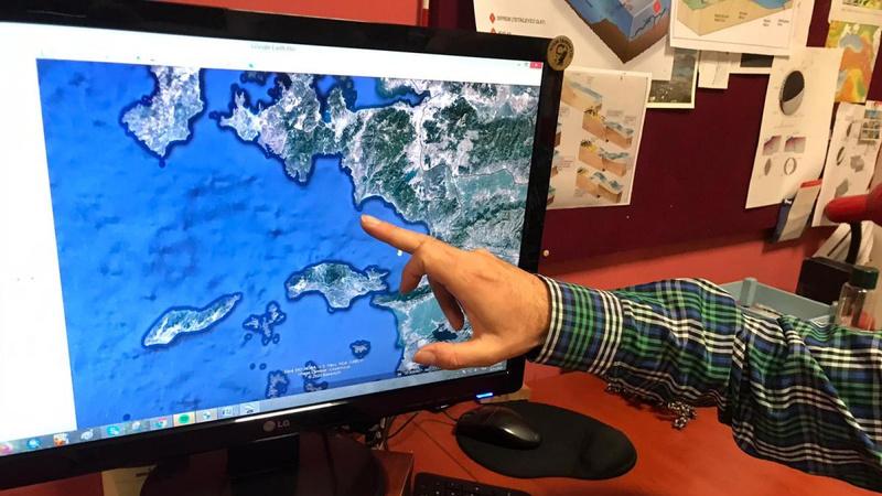 Uzmanlardan Seferihisar'da 'tsunami' incelemesi