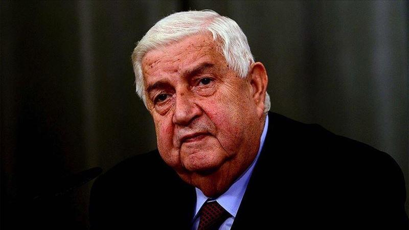 Esad rejiminin Dışişleri Bakanı öldü