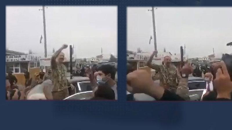 İlham Aliyev, cephe bölgesine gitti