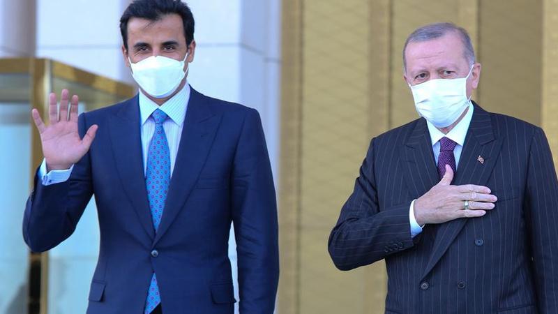 Cumhurbaşkanı Erdoğan'dan Katar mesajı