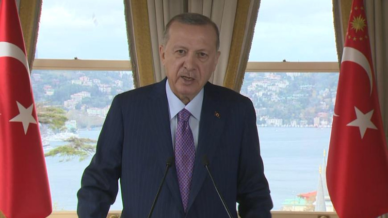 Erdoğan'dan BM Özel Oturumu'nda 'koronavirüs' mesajı