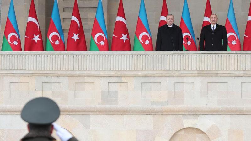 'Karabağ Fatihleri' Azerbaycan'ın büyük zaferini kutladı
