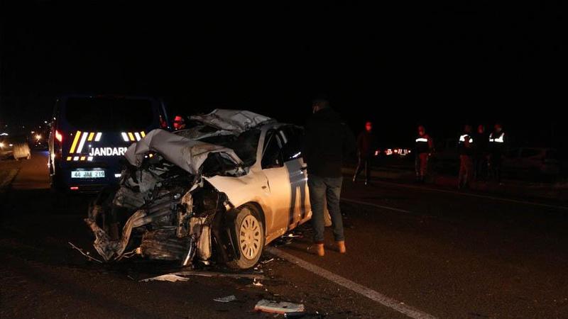 Malatya'da feci kaza: 3 ölü