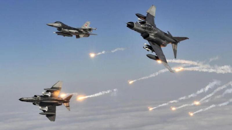 10 terörist hava harekatıyla etkisiz hale getirildi!
