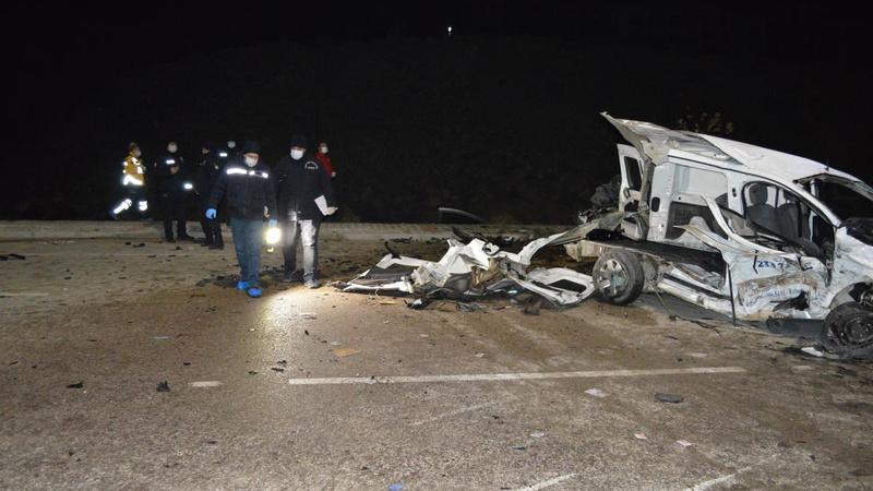 Elazığ'da korkunç kaza