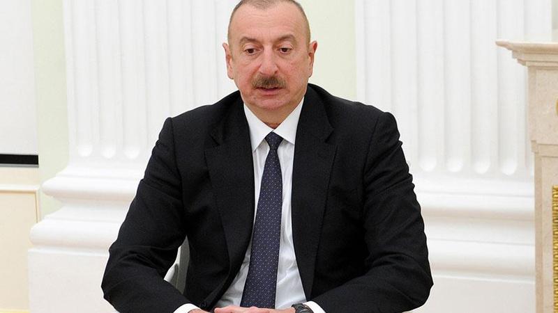 Azerbaycan Cumhurbaşkanı Aliyev, Zarif'i kabul etti