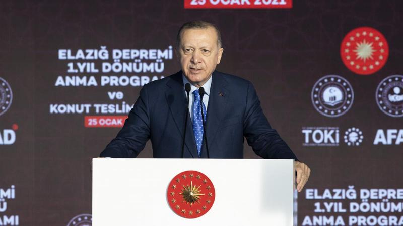 Cumhurbaşkanı Erdoğan'dan 'kentsel dönüşüm' açıklaması