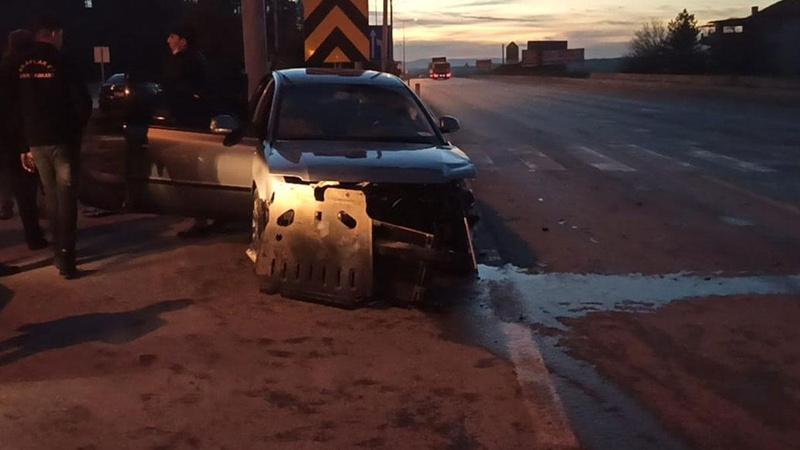 Milletvekili Yediyıldız trafik kazası geçirdi