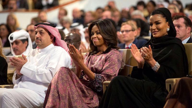 Katar Emiri'nin annesi ile Obama'nın yazışmalarına ulaştılar