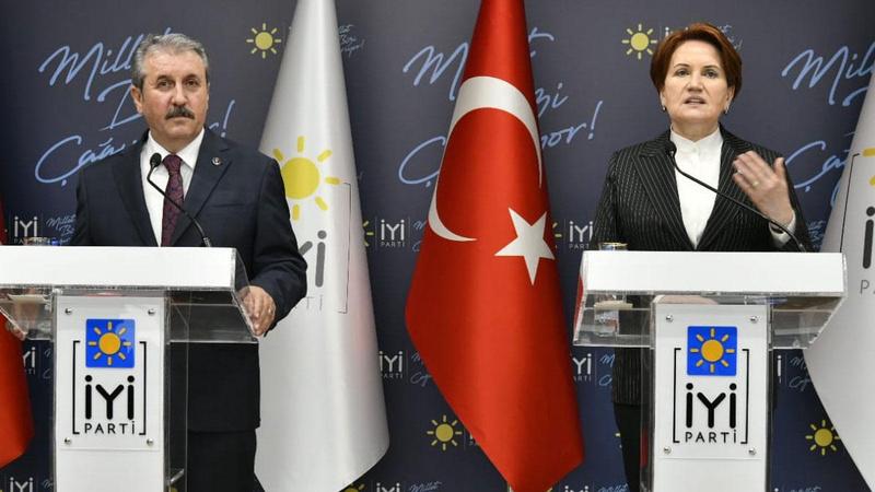 Mustafa Destici, Meral Akşener'i ziyaret etti