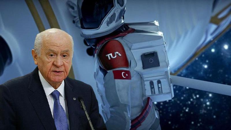 Bahçeli'den astronot yerine 'Cacabey' önerisi