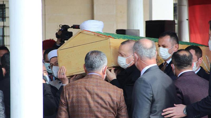 Erdoğan, Hafız Abdullah Nazırlı'nın cenaze törenine katıldı