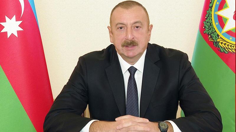 Aliyev'den Erdoğan'a başsağlığı mesajı