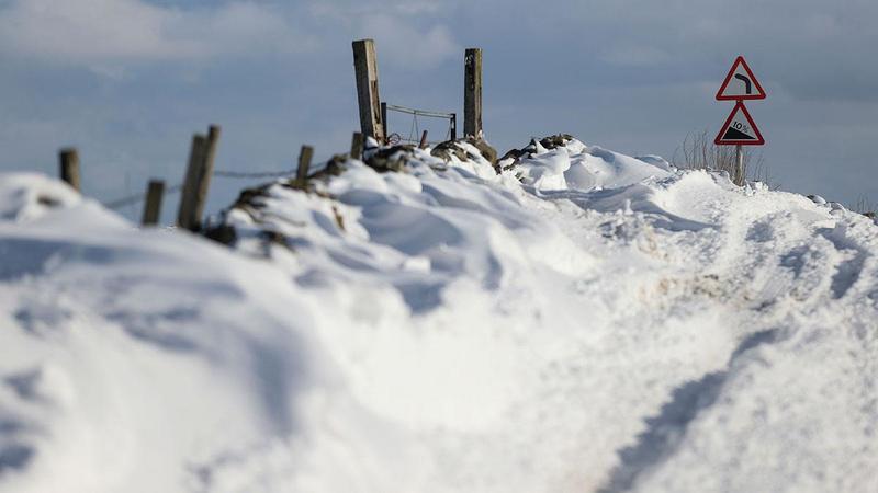 Bill Gates uyarmıştı: Kar yağışıyla kıyameti yaşadılar