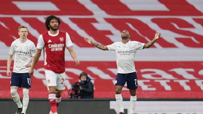 Manchester City galibiyet serisini 13 maça çıkardı