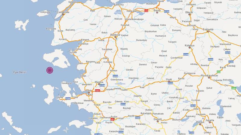 İzmir'de 3.8'lik deprem