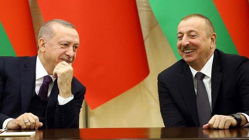 Aliyev'den Erdoğan'a tebrik: Sıkı çalışmanızın sonucu