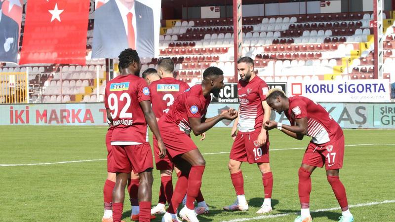 Hatayspor, Ankaragücü'nü 4 golle geçti