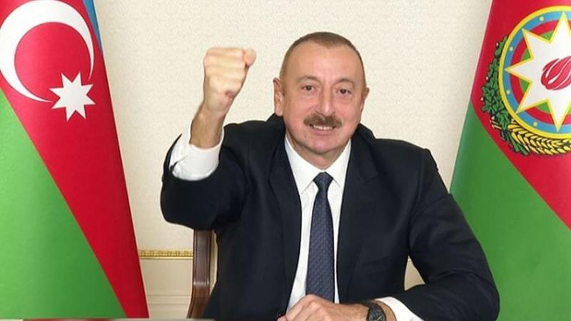 Aliyev: Azerbaycan Türkiye gibi müttefiki olduğu için mutlu