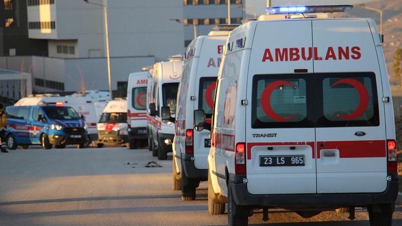 11 şehit askerimizin naaşı Elazığ'a getirildi