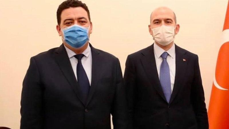 Bakan Soylu'nun fotoğrafının kaldırtılmak istendiği iddiası