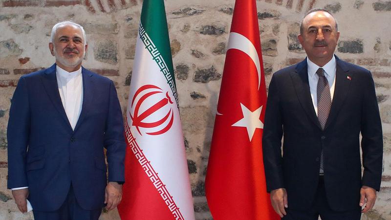 Çavuşoğlu ile Zarif arasında kritik görüşme