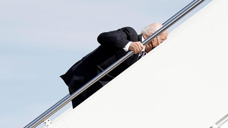 Beyaz Saray, Joe Biden'ın neden düştüğünü açıkladı!